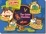 Between the Lions – This website is based on the PBS show Between the Lions.  It has great stories, with the words underneath.  for students to watch.  There are also games based on these stories.