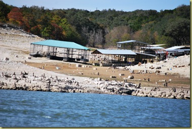 Lake Travis - stranded Marinas