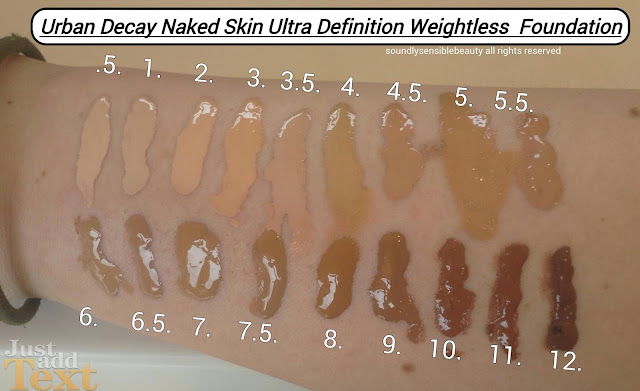 Urban decay naked foundation swatches pic 48