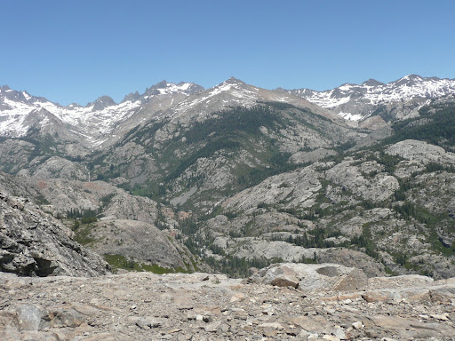 in ansel adams wilderness