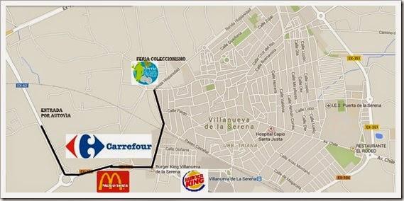 Mapa Feria
