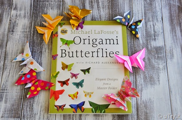 Origami Butterflies Book Giveaway Winner Announcement