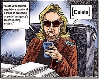 Hillary Clinton Changes Twitter Photo That Got Second Life in E-mail Controversy 2 toon