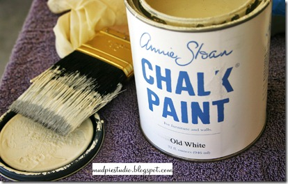 chalk paint and wm