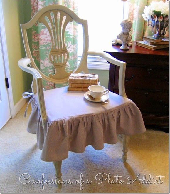 CONFESSIONS OF A PLATE ADDICT How to Give a Chair Country French Style