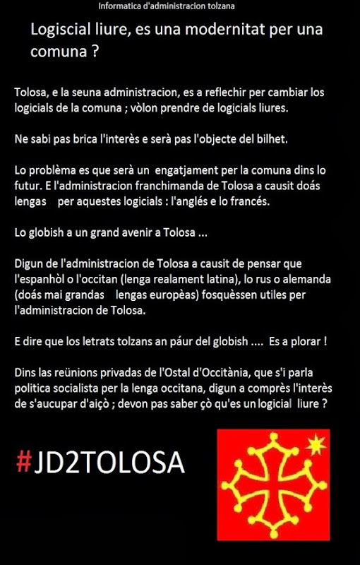 Logicial liure Tolosa