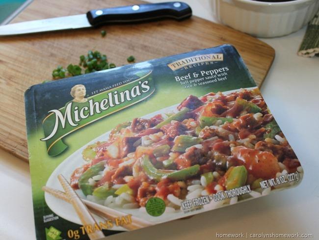 Michelina's MakeItYourMichelina via homework12