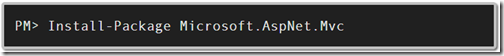 Nuget for installing latest version of asp.net mvc