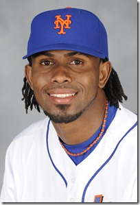 PORT ST. LUCIE, FL - FEBRUARY 27:  Jose Reyes #7 of the New York Mets poses during Photo Day on Saturday, February 27, 2010 at Tradition Field in Port St. Lucie, Florida.  (Photo by Marc Levine/MLB Photos) *** Local Caption *** Jose Reyes
