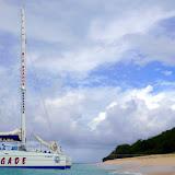 Anchored Off Shore At Buck Island - St. Croix, USVI