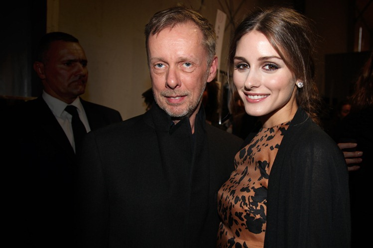 Bill Gaytten et Olivia Palermo