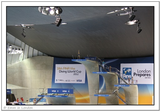 Hand stand to dive FINA Diving World Cup