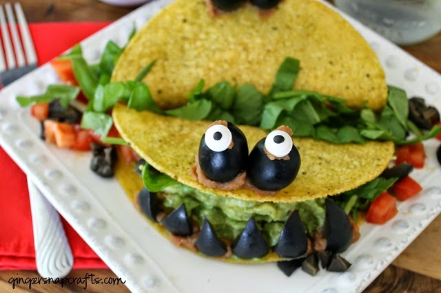 monster taco dinner #recipes