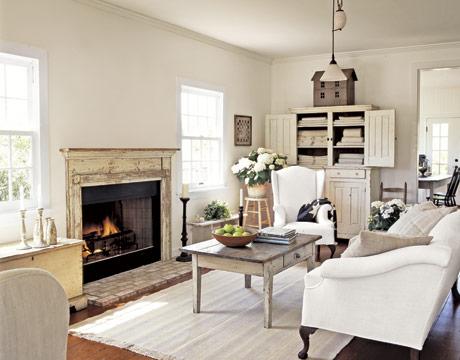 Dream living room. (www.countryliving.com)