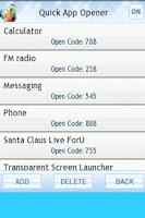 Screenshot of Quick App Opener