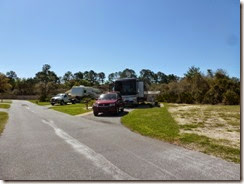 "Lot 75 Cedar Key RV Resort ""After"""