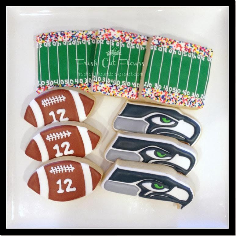 Seahawks 2 cookies
