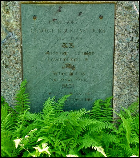 01c - Sievr De Monts Spring - George Bucknam Dorr Memorial Stone
