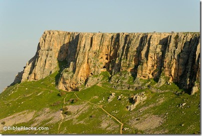 Arbel cliffs from northwest, tb022107201