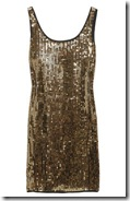 DKNY Sequined Stretch Dress