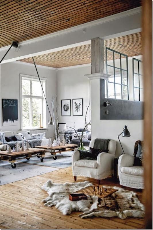 case e interni - stile scandinavo - moderno - bianco (5)