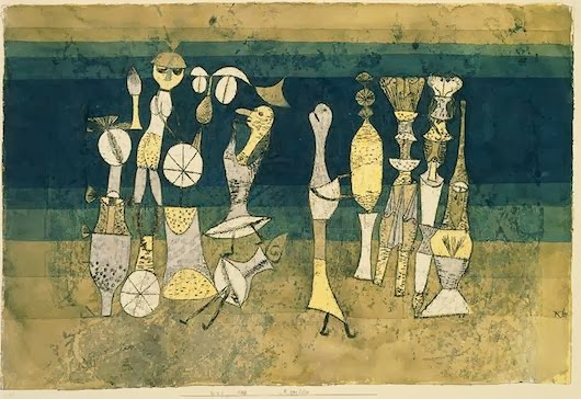 Comedy 1921 by Paul Klee 011