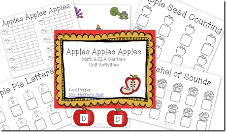 apples math unit