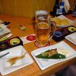 dinner time in roppongi in Tokyo, Tokyo, Japan