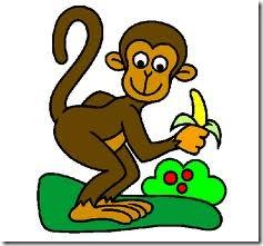 Macaco desenho