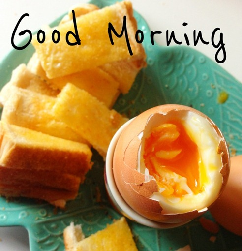 Soft Boiled Eggs & Soldiers