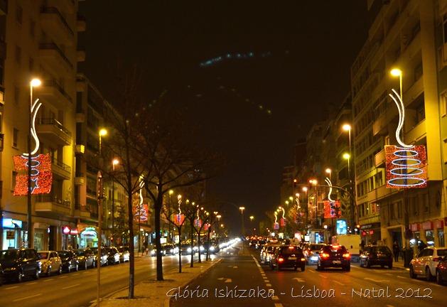 Glória Ishizaka - Lisboa - Luzes de Natal - 2