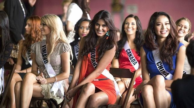 Fotos de Miss Colombia sin ropa interior