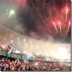 Fluminense hinchas