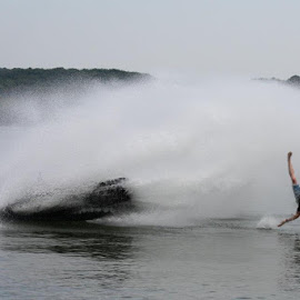 Time Just Stopped by Sawyer Casey - Sports & Fitness Watersports