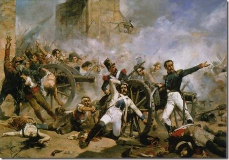 Defensa del cuartel de Monteleón