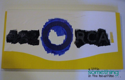 RCAF Sign Blue and Black Layers Watermarked