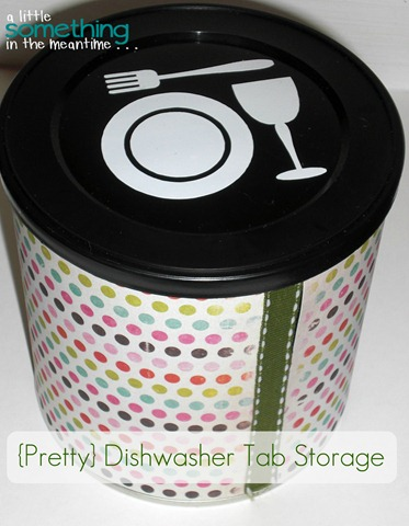 Dishwasher Tab Storage Project Gallery