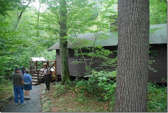 08-29-2011 B Shenandoah NP Rapidan Camp Tour 021