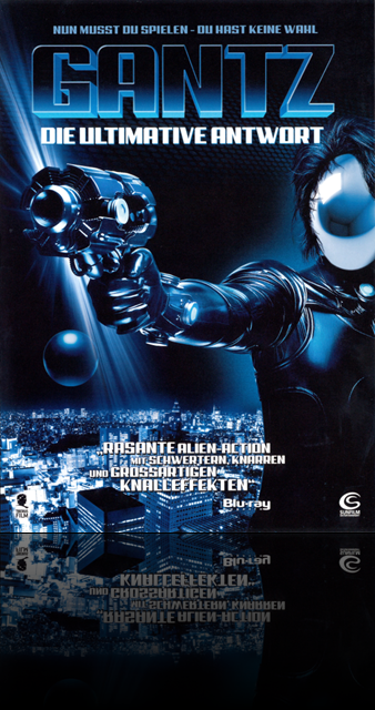 Gantz 2 Die Ultimative Antwort Poster Cover