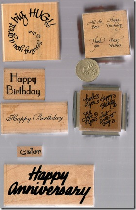 WORD STAMPS 4