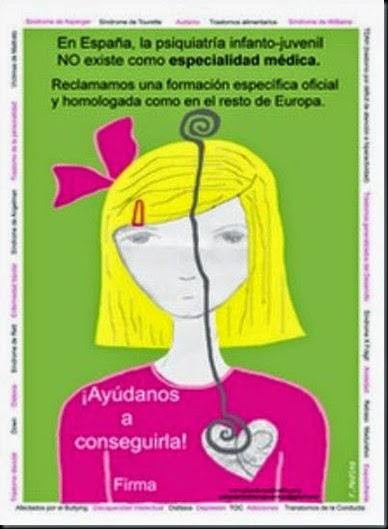 PLATAFORMA ESPECIALIDAD PSIQUIATRIA INFANTIL Y JUVENIL