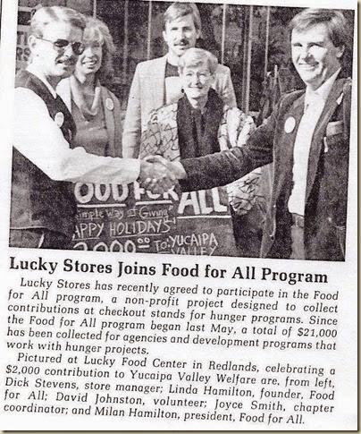 Lucky Redlands 86