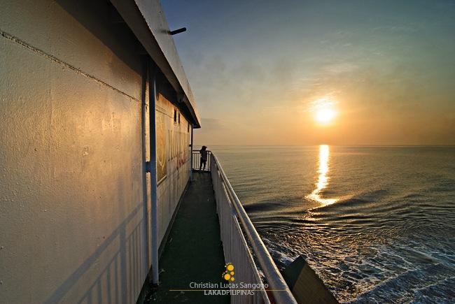 Sunset at Tayabas Bay