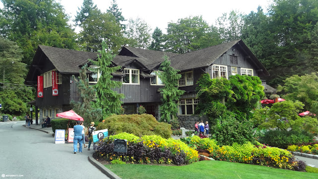 beautiful house on Stanley Park in Vancouver, British Columbia, Canada