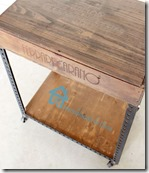 diy-industrial table with wooden wine crate2