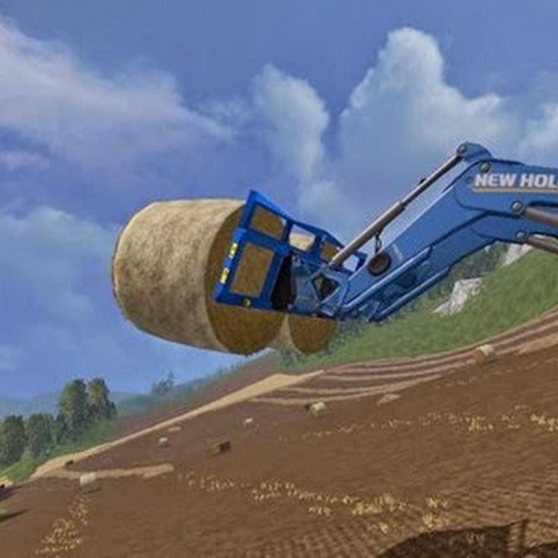 Farming simulator 2015 - Double Bale Fork v 1.1.1