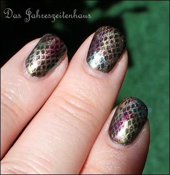 Reptile Schlangen Nails 9