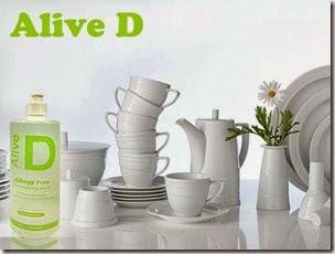 Alive™ D Гипоаллергенная жидкость для мытья посуды