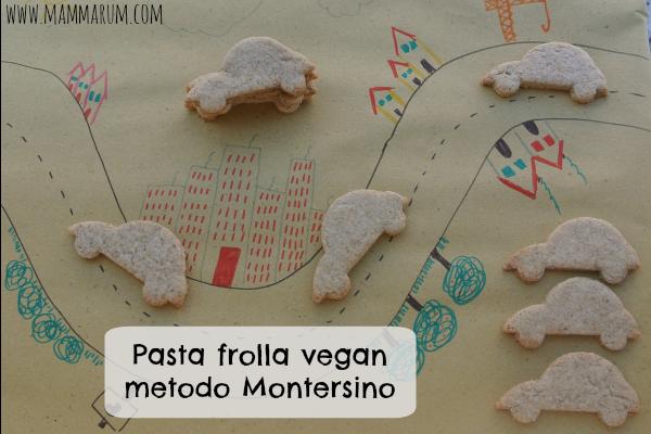 pasta frolla vegan montersino