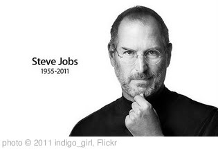 'Steve  Jobs ,RIP.' photo (c) 2011, indigo_girl - license: http://creativecommons.org/licenses/by-sa/2.0/